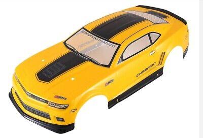 """RC CAR KAROSSERIE 1:10 /""""RENAULT RS 01 GT/"""" IN SCHWARZ 195MM BREIT # JLR22"""