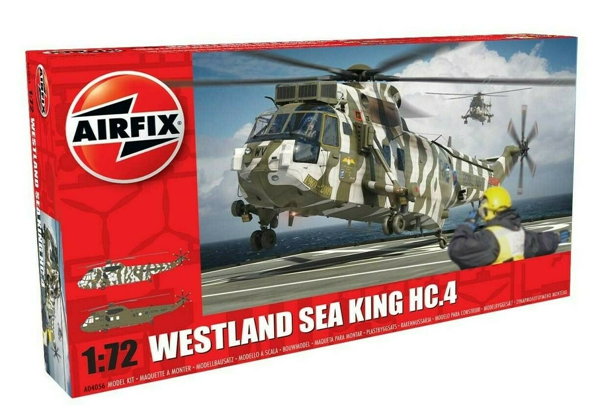 Airfix A04056 1//72 Westland SEA KING HC.4 Royal Navy Helicopter