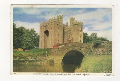 Bunratty Castle Co Clare Ireland Postcard 987a