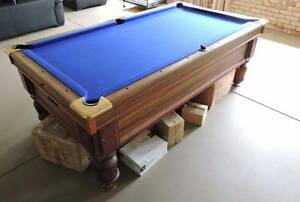 Pub Sized Auto Ball Return Slate Top Pool Table Brightview Somerset Area Preview