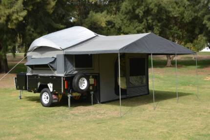 Fraser SE Off Road Camper Trailer. Big family pack at PMX Campers Canning Vale Canning Area Preview
