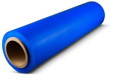 Blue Hand Stretch Wrap 18 X 1500 63 Ga Pallet Wrapping Shrink Film 1 Roll