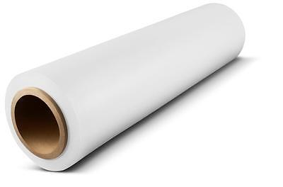 White Hand Stretch Wrap 18 X 1500 80 Ga Pallet Wrapping Shrink Film 1 Roll