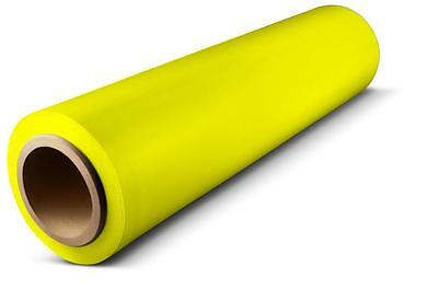 Yellow Hand Stretch Wrap 18 X 1500 63 Ga Pallet Wrapping Shrink Film 1 Roll