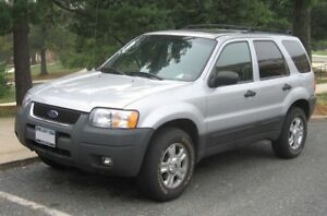 Wanted: Ford Escape, Hyundai Santa Fe, Kia Sorento or Sportage