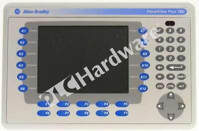 Allen Bradley 2711p-k7c4d1 Series A Panelview Plus 700 Keypadenetrs-232 64 Mb