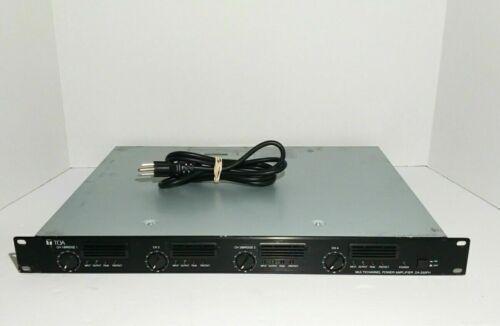 TOA DA-250F Digital Multichannel Power Amplifier 250 W x 4 Channels