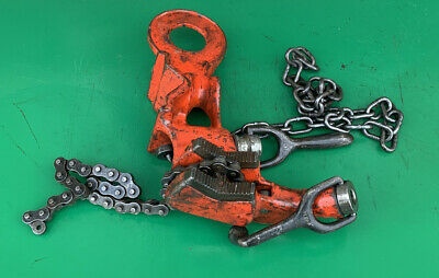 Ridgid 649 Chain Pipe Vise Threading Mobile Stand