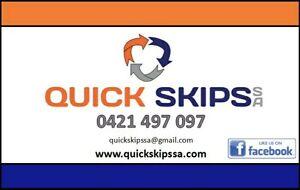 Quick Skips SA     Mini Skip Bins rubbish waste skips cheap bargain Wingfield Port Adelaide Area Preview