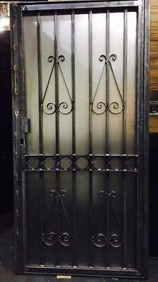 METAL GATE / WROUGHT IRON GATE / GATE. METAL GARDEN SIDE GATE DESIGN GATE