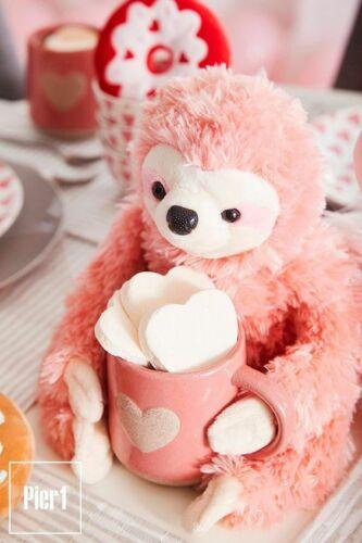 Pier 1 Imports Iggy the Valentines Plush Sloth