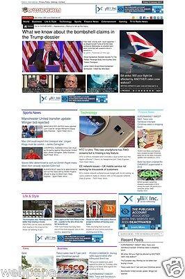 Fully Automated Wordpress News Website   100  Autopilot   Seo Ready Website