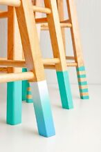 Wooden stool - paint your fave colour North Strathfield Canada Bay Area Preview