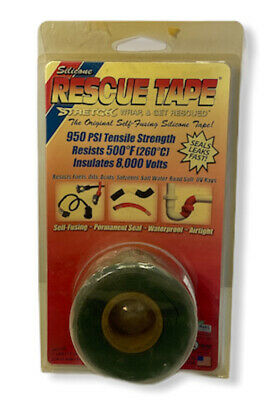 Rescue Tape Self-fusing Silicone Tape Emergency Pipe Plumbing Repair ...