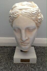 Greek statue bust