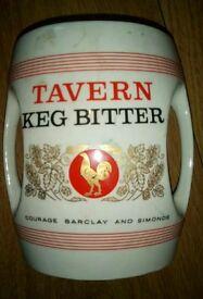 Old beer display