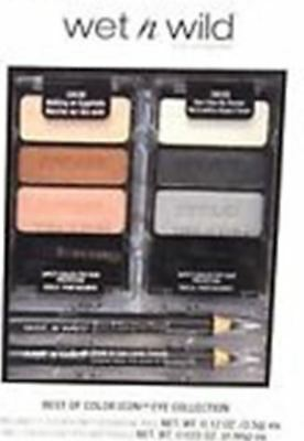 Wet n' Wild Los Angeles Best of Color Icon Eye 4 Piece Collection ~ Gift Boxed (Best Neutral Eyeshadow Palette)