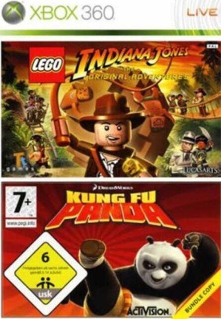 LEGO INDIANA JONES/KUNG FU PANDA XBOX 360
