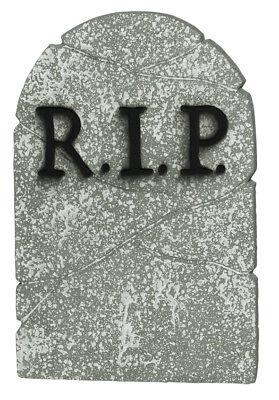 one / RIP Grabstein 55,8 cm Grusel Deko (Rip Grabstein)