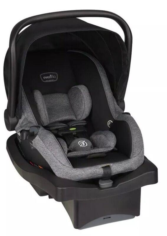 FREE SAME DAY SHIPPING Evenflo Advanced SensorSafe LiteMax Infant Car Seat,Black