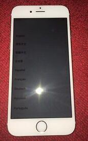 I Phone 6 16gb unlocked Gold