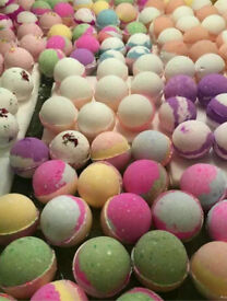 (Mother's Day) homemade bath bombs