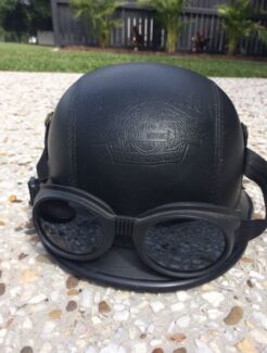 Harley Davidson Motorbike Helmet Black