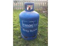 Full calor gas bottle