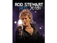 ROD STEWART AT LONDON O2 - 12TH DECEMBER 2016 (3 TIX)