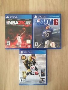 PS4 and GAMES MINT CONDITION