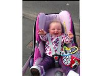 Maxi Cosi Cabrio fix Baby seat