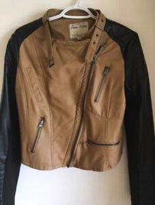 Faux leather Urban Planet jacket