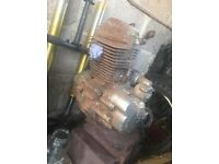 Kaisar/lexmoto xtr125 engine