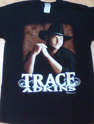Trace Adkins Men's Large Short Sleeve Shirt