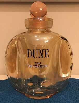VERY LARGE Dune Christian Dior EDT Perfume Factice Dummy Bottle Empty