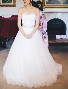 Sweetheart A-line Wedding Dress with Belt Zetland Inner Sydney Preview
