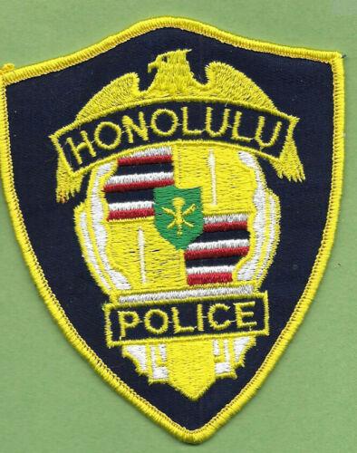 HONOLULU HAWAII POLICE DEPT  HPD PD EAGLE OLD STOCK (FIRE)