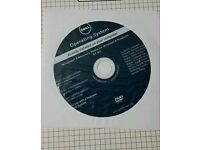 Windows 8 64 Bit Dell Recovery Media disc DVD