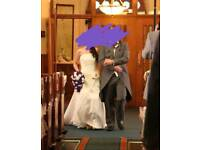 Size 8 Ivory wedding dress