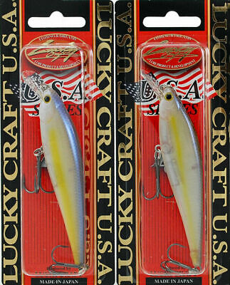 250 Chartreuse Shad LUCKY CRAFT Flash Pointer 115