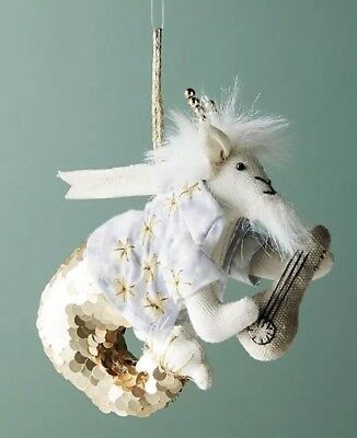 Anthropologie Zodiac Capricorn The Goat Christmas Ornament