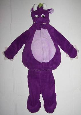 Old Navy Dragon Halloween Costume (OLD NAVY 2 pc PURPLE DRAGON Costume 3-6 MO Halloween)