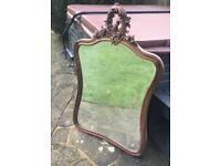 French Antique mirror