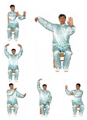 Dr. Chen's Tai Chi Qigong workout in Wheelchair  DVD, Tai Chi GongFa 001