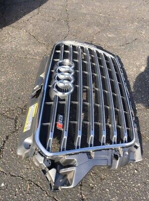 AUDI S3  8V5853  FRONT BUMPER GRILLE GRILL OEM WITH RINGS USED 2015-2016
