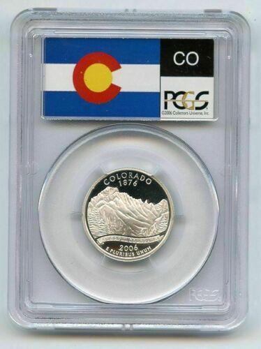 2006-S PCGS PR70DCAM Colorado SILVER DEEP CAMEO