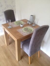 Next dining table & chairs