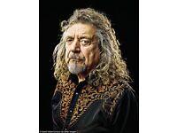 Robert Plant tickets Birmingham this evening