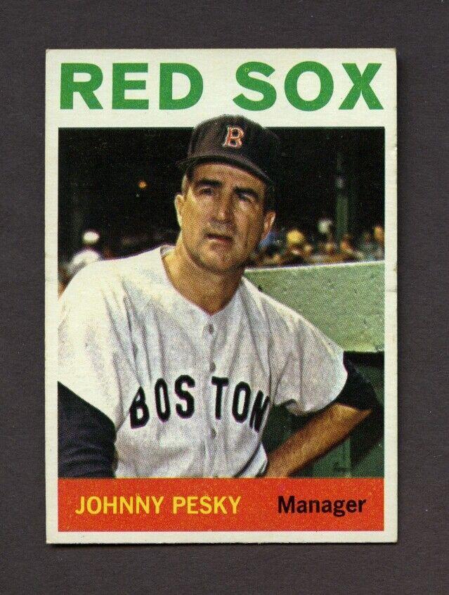 1964 Topps Johnny Pesky 248 EX - $3.00