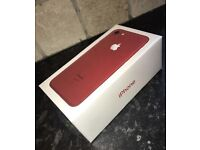 Brand New Iphone 7 128gb red bought Friday with proof